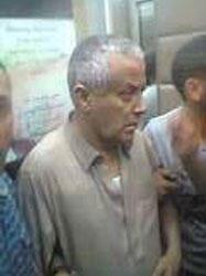 """صورة على تويتر عن """"اعتقال"""" علي زيدان يرجح أنها التقطت بطرابلس 2013/10/10"""