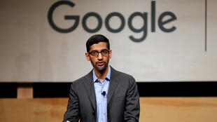 Google CEO Sundar Pichai speaks during signing ceremony committing Google to help expand information technology education at El Centro College in Dallas, Texas, U.S. October 3, 2019.