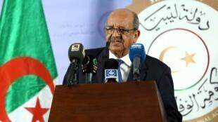 وزير الخارجية الجزائري عبد القادر مساهل