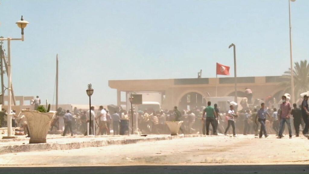 Confusion au poste-frontière de Ras Jedir, en Tunisie, vendredi 1er août
