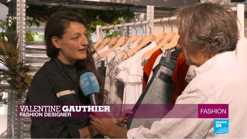 FRANCE 24's Fashion looks at durable designers engaging with recycling and biodiversity.