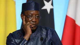 Le président tchadien, Idriss Déby, à la tête du Tchad depuis 1990.