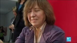 2020-08-26 10:06 Nobel winner to be grilled over Belarus opposition role