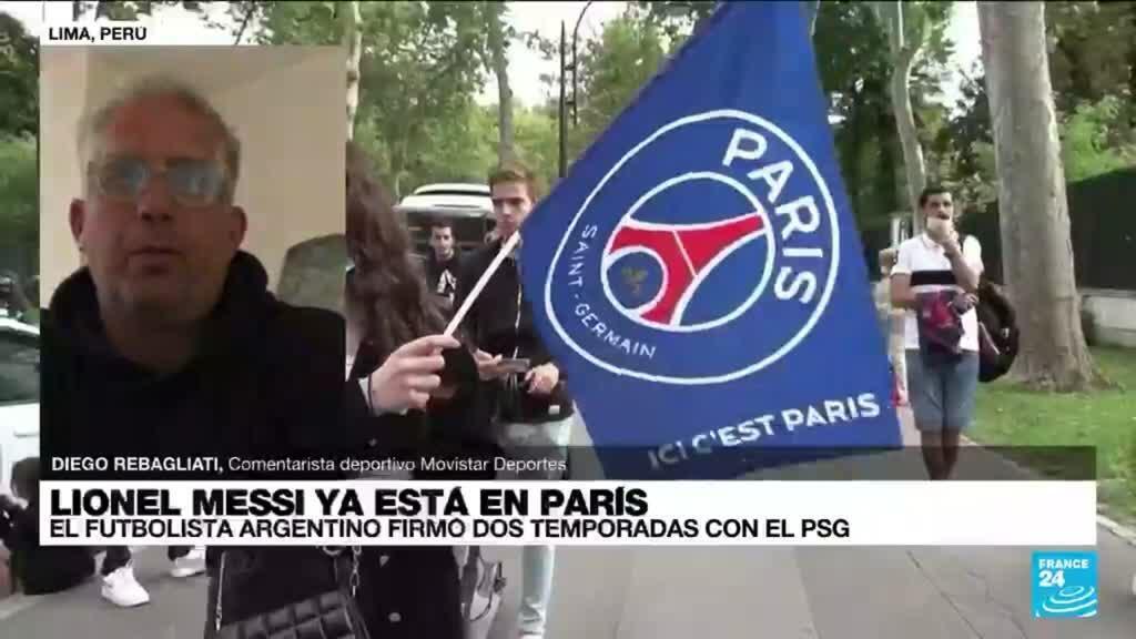 """2021-08-11 03:10 Diego Rebagliati: """"El PSG le ofrece a Messi un proyecto ambicioso"""""""