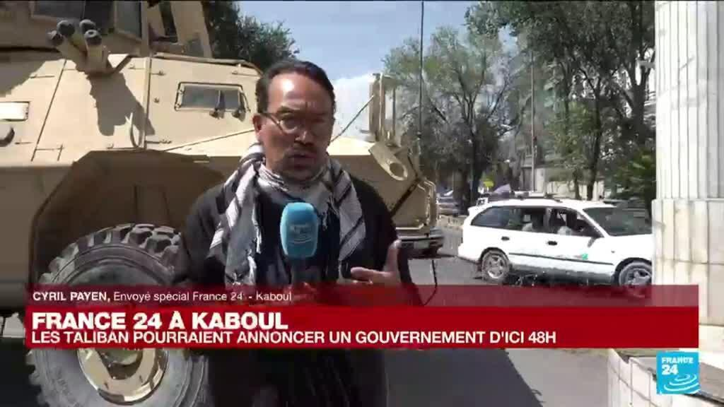 2021-09-02 10:01 Exclusif - France 24 à Kaboul : les Taliban pourraient annoncer un gouvernement d'ici 48 H