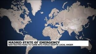 2020-10-09 14:09 Spain imposes state of emergency to bring Madrid to heel
