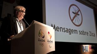 Mario Andrada, porte-parole du Comité d'organisation Rio-2016.