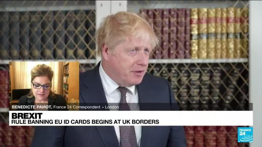2021-10-01 13:01 Post-Brexit rule banning EU ID cards begins at UK borders