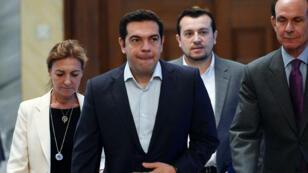 رئيس الحكومة اليوناني ألكسيس تسيبراس