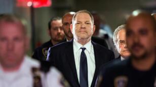 Harveu Weinstein lors de son arrivée à la cour de Manhattan, le 5 juin, à New York.