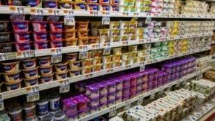 Supermarkets on average offer 300 to 350 yogurt products