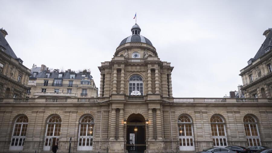 Le palais du Luxembourg, qui abrite le Sénat à Paris.