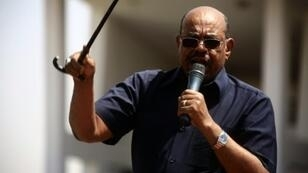 الرئيس السوداني المخلوع عمر البشير في الخرطوم