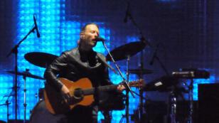 """توم يورك، عضو فرقة """"راديوهيد""""، 2012"""