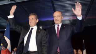 Alain Juppé accueillait Nicolas Sarkozy à Bordeaux, samedi, pour un meeting à une semaine du scrutin pour la présidence de l'UMP.