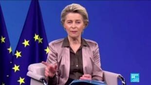 2020-12-14 14:01 'There is movement. That is good', says EU's von der Leyen on Brexit talks