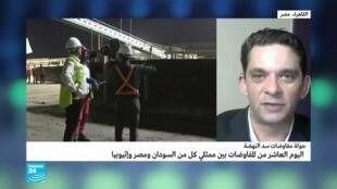 صورة لمراسل فرانس24 في القاهرة تامر عز الدين
