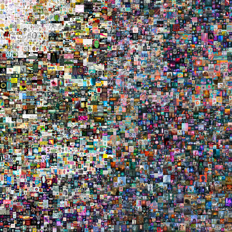 Beeple digital collage