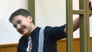 La pilote ukrainienne Nadia Savtchenko a été libérée par la justice russe, le 25 mai 2016.