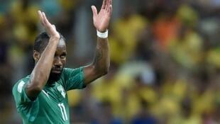 Didier Drogba pourrait conclure sa carrière prolifique au Brésil.