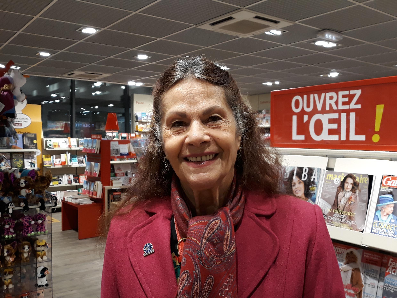 Retired teacher Viviane, 78, in Paris.