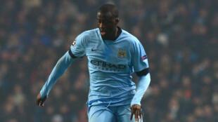 L'Ivoirien Yaya Touré lors du match de Ligue des Champions de Manchester City contre le CSKA Moscou, le 5 novembre 2014.