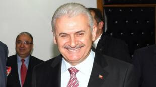 Le ministre turc des Transports Binali Yildirim en avril 2012 à Ankara.