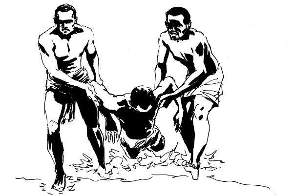 """Une vignette de la bande dessinée """"Les esclaves oubliés de Tromelin"""""""