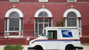 A US Postal Service post office in Philadelphia, Pennsylvania, US, August 14, 2020.