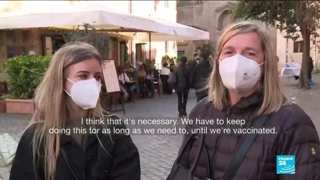 2021-03-15 10:13 Coronavirus restrictions reimposed across much of Italy as cases rise