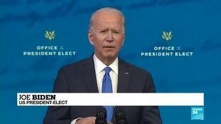 2020-12-15 09:05 US presidential transition: Biden hails democracy after electoral college victory