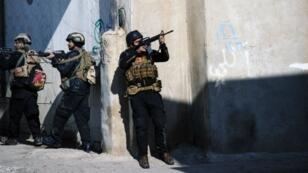 القوات العراقية في الموصل، 17 يناير 2017