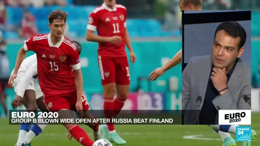 2021-06-16 23:54 Euro 2020: Group B blown wide open after Russia beat Finland