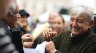 Andrés Manuel López Obrador, presidente electo de México tomará posesión el 1 de diciembre de 2018 y dirigirá el país hasta el 2024.