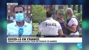 """2020-08-29 06:13 Tour de France 2020 : """"des mesures sanitaires extrêmement strictes"""""""