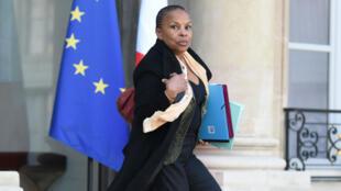 Icône de la gauche, Christiane Taubira avait exprimé ouvertement son désaccord avec la réforme constitutionnelle.