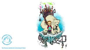 À l'occasion de la semaine internationale pour le climat, du20 au 27septembre, Cartooning for Peace met à l'honneur le combat pour la planète de la jeune activiste Greta Thunberg.