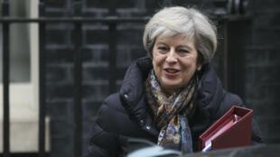 Le gouvernement de la Première ministre Theresa May devrait activer avant fin mars l'article 50 du Traité de Lisbonne déclenchant le Brexit.