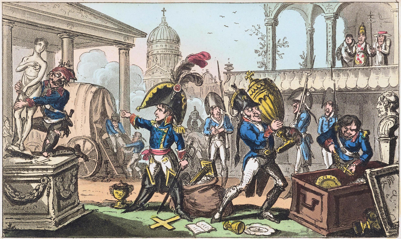 George_Cruikshank,_Seizing_the_Italian_Relics,_1815