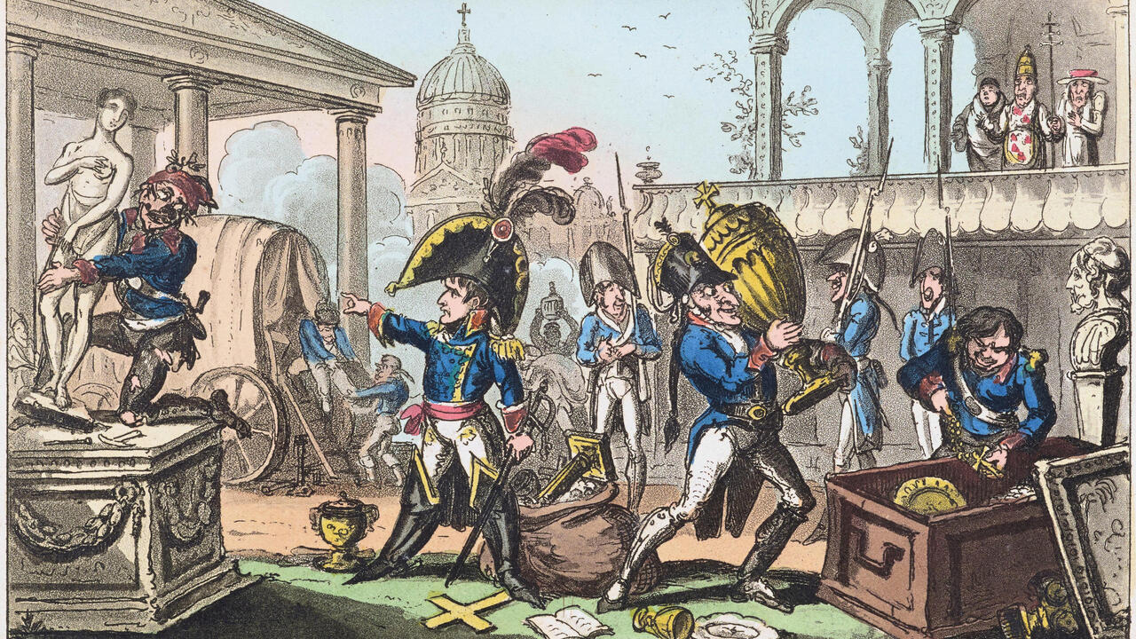 Napoleonic plunder and the birth of national museumsgoogle-play-badge_EN