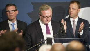 """Frank Henkel, chef de file de la CDU à Berlin, a reconnu un résultat """"pas du tout satisfaisant"""" dimanche."""
