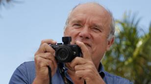 Le photographe Peter Lindbergh en 2011 lors du festival de Cannes.