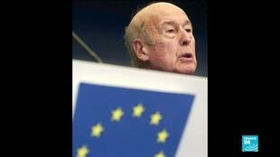 2020-12-03 16:01 Former President Giscard d'Estaing leaves big legacy on European integration and on reinforcing EU