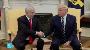 نتانياهو وترامب