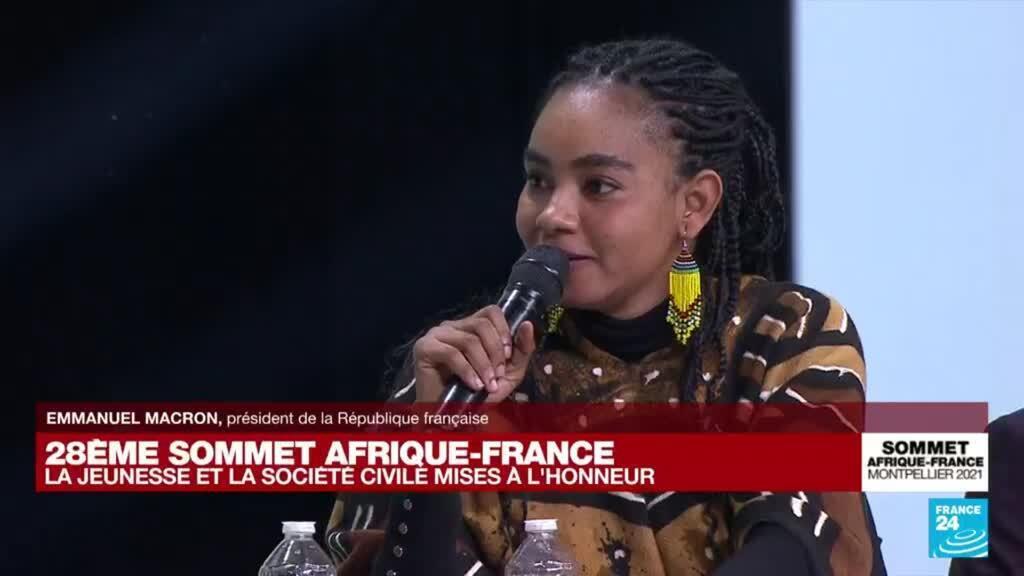 """2021-10-08 18:04 Sommet Afrique-France : """"L'intervention militaire étrangère n'a jamais réglé un problème"""""""
