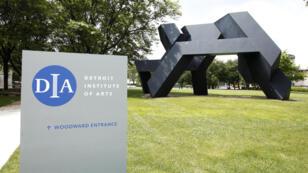 Les jardins du Detroit Institute of Arts (DIA)