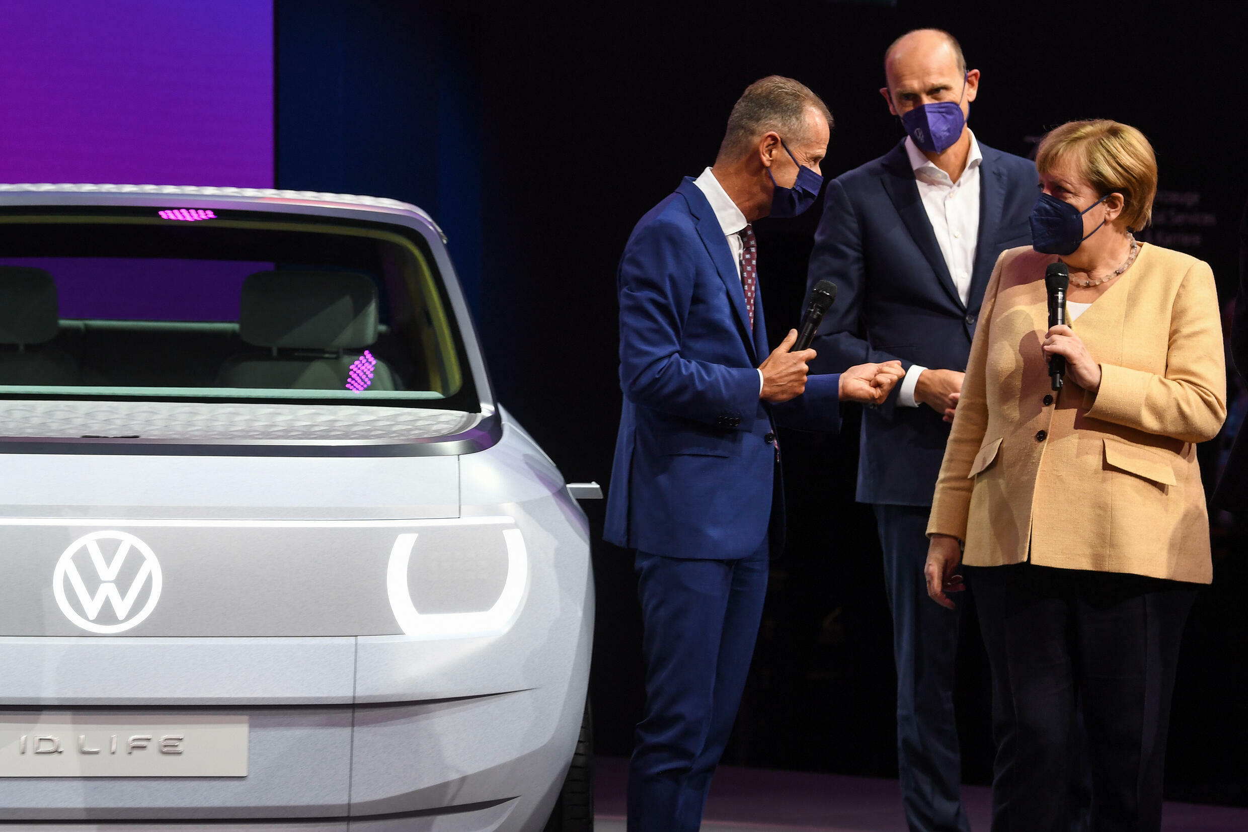 Volkswagen CEO Herbert Diess blamed Merkel's government for slowing down the electric revolution by incentivising diesel fuel for years.