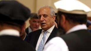 Le principal négociateur américain avec les Taliban, Zalmay Khalilzad, le 8 juillet 2019 à Doha.