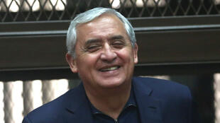 El expresidente de Guatemala Otto Pérez Molina.