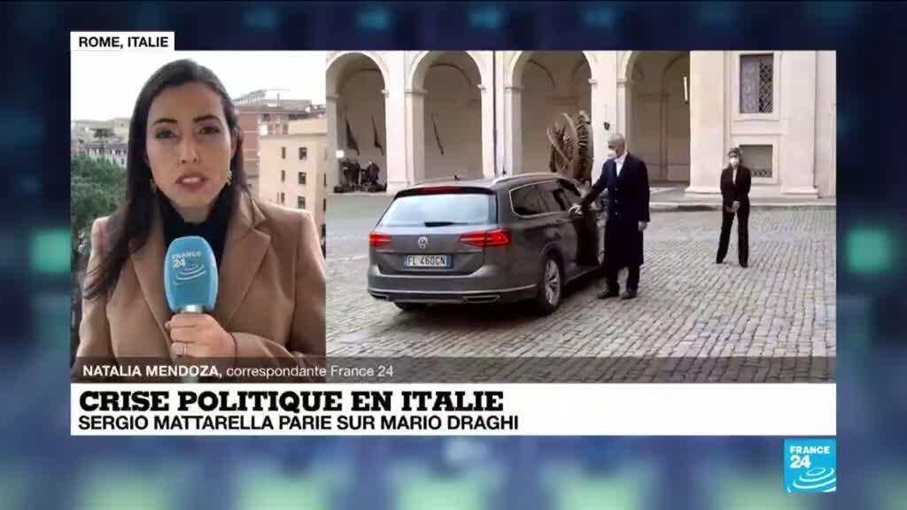 2021-02-03 13:01 L'Italie parie sur Mario Draghi pour sortir de sa crise politique